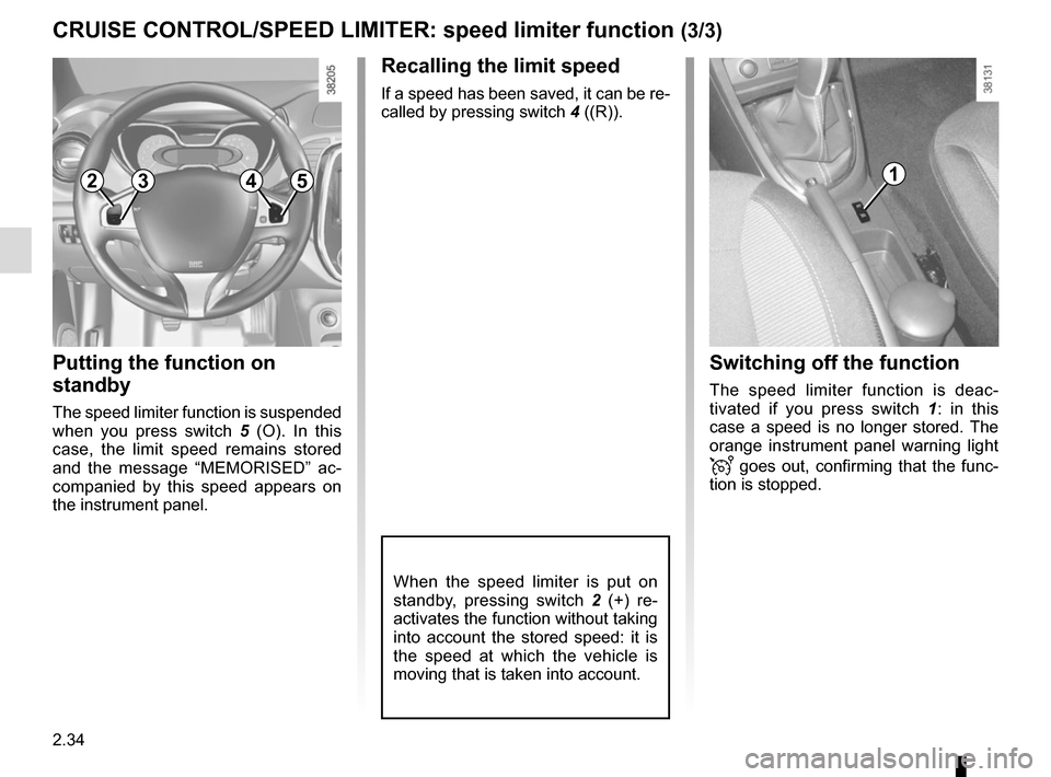 RENAULT CAPTUR 2014 1.G Owners Manual, Page 114