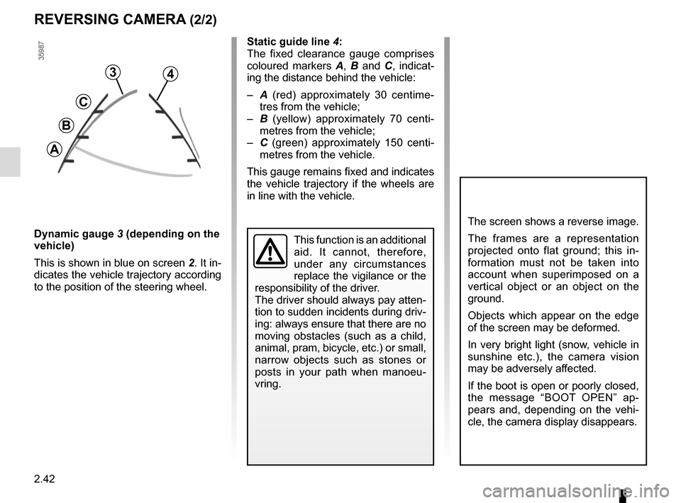 RENAULT CAPTUR 2014 1.G Owners Manual, Page 122