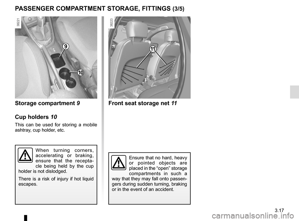 RENAULT CAPTUR 2014 1.G Owners Manual, Page 143