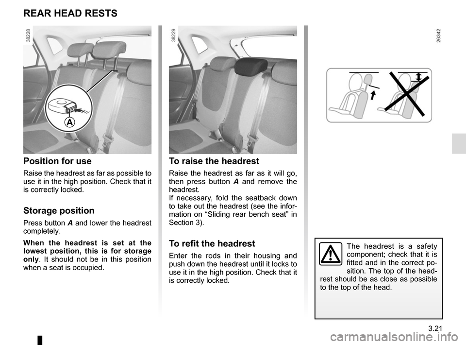 RENAULT CAPTUR 2014 1.G Owners Manual, Page 147