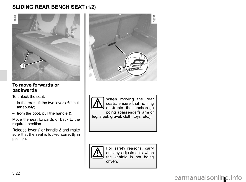 RENAULT CAPTUR 2014 1.G Owners Manual, Page 148