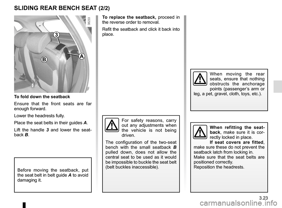 RENAULT CAPTUR 2014 1.G Owners Manual, Page 149