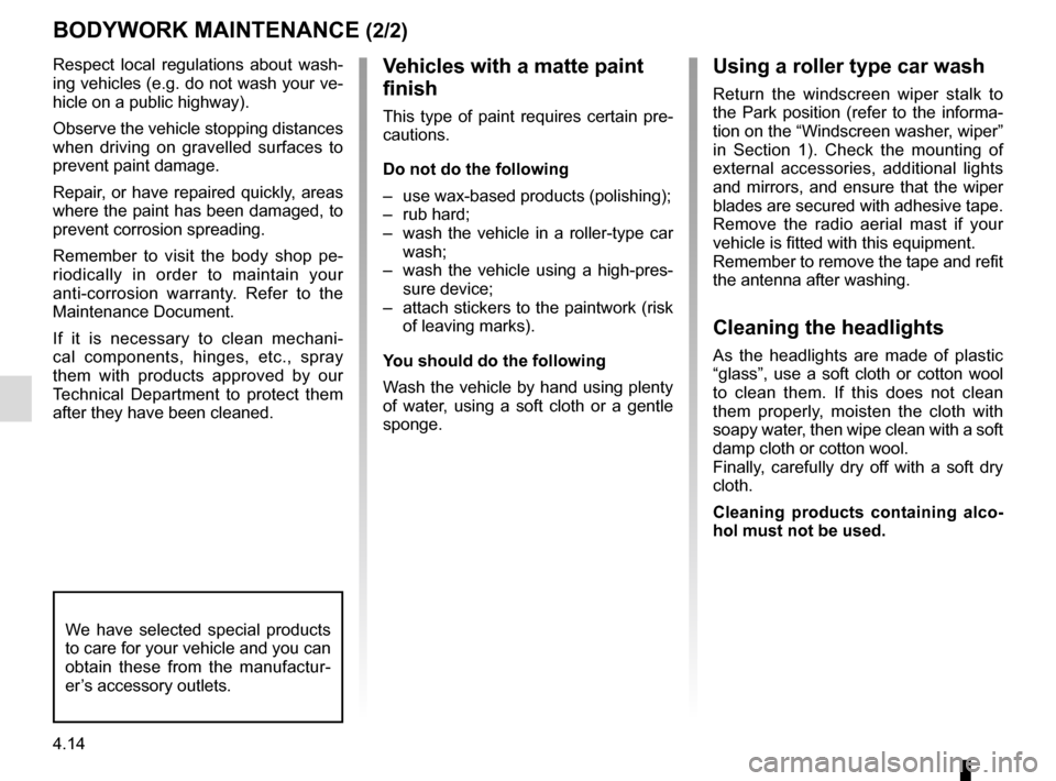 RENAULT CAPTUR 2014 1.G Owners Manual, Page 172