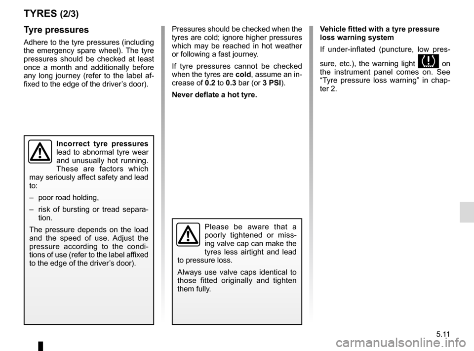 RENAULT CAPTUR 2014 1.G Owners Manual, Page 191