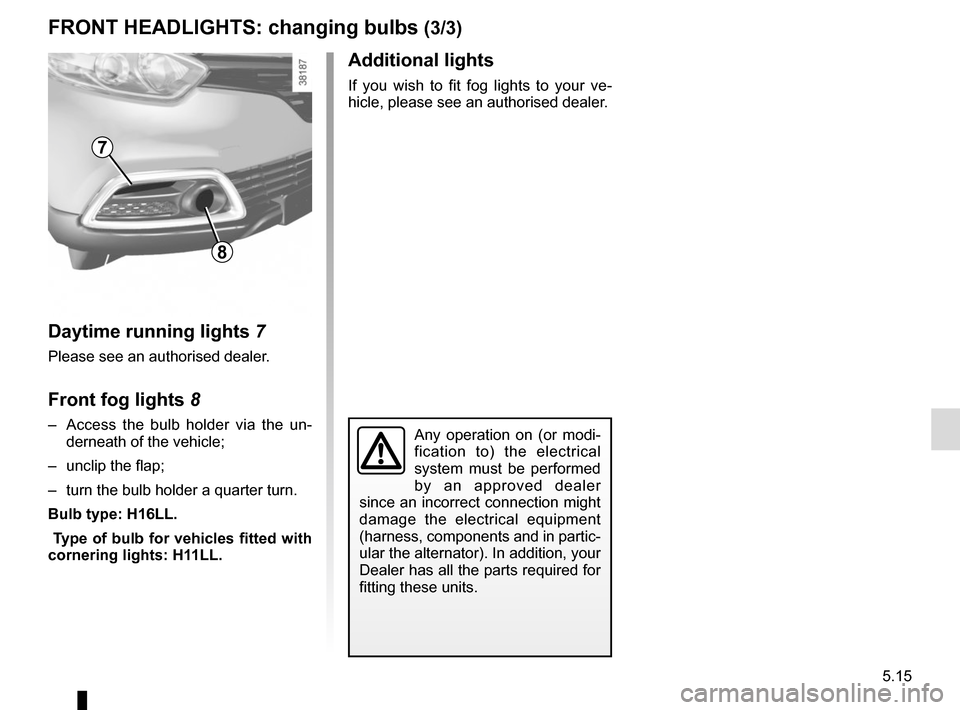RENAULT CAPTUR 2014 1.G Owners Manual, Page 195