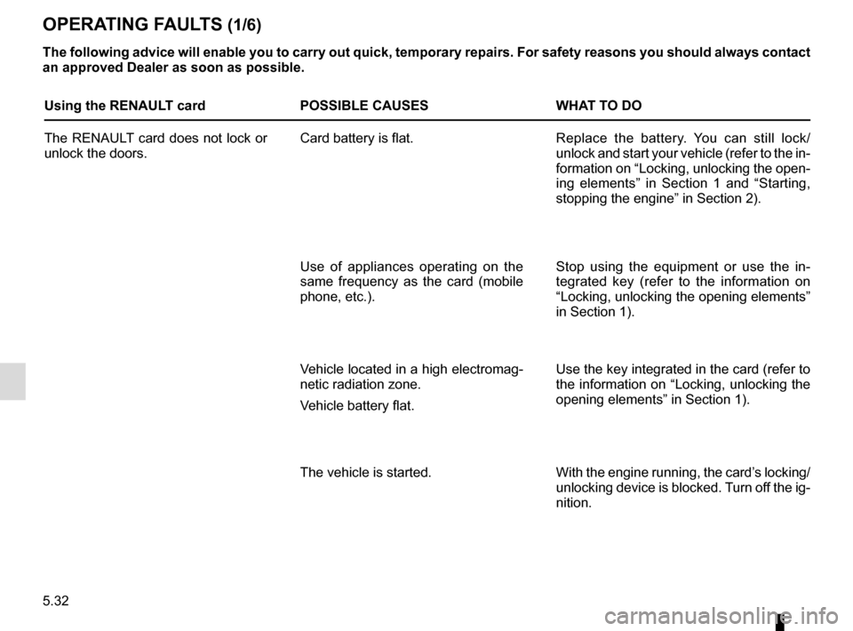 RENAULT CAPTUR 2014 1.G Owners Manual, Page 212