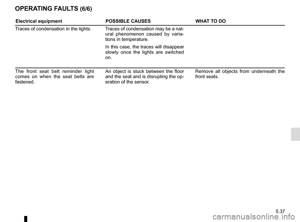 RENAULT CAPTUR 2014 1.G Owners Manual, Page 217