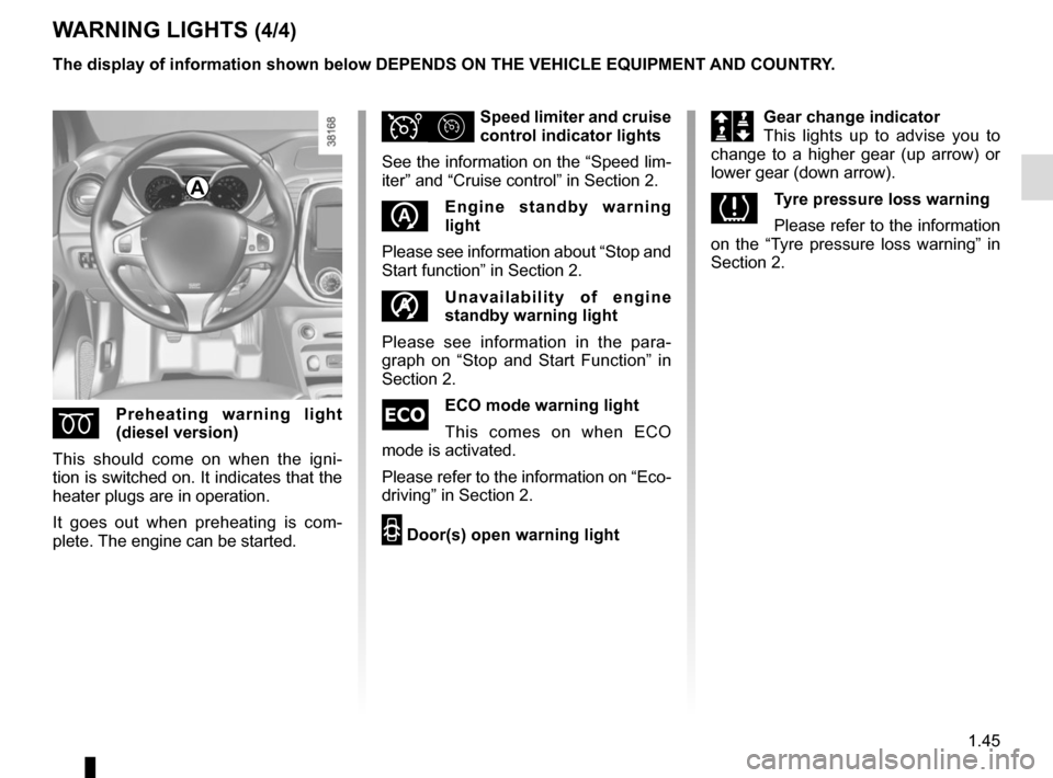 RENAULT CAPTUR 2014 1.G Owners Manual, Page 51