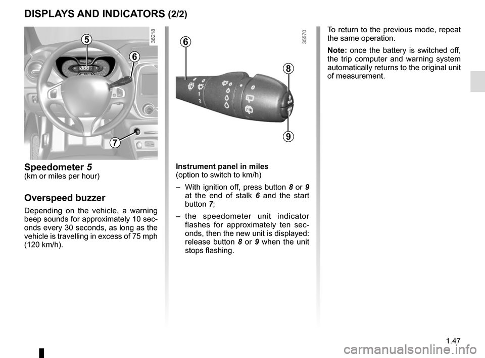 RENAULT CAPTUR 2014 1.G Owners Manual, Page 53
