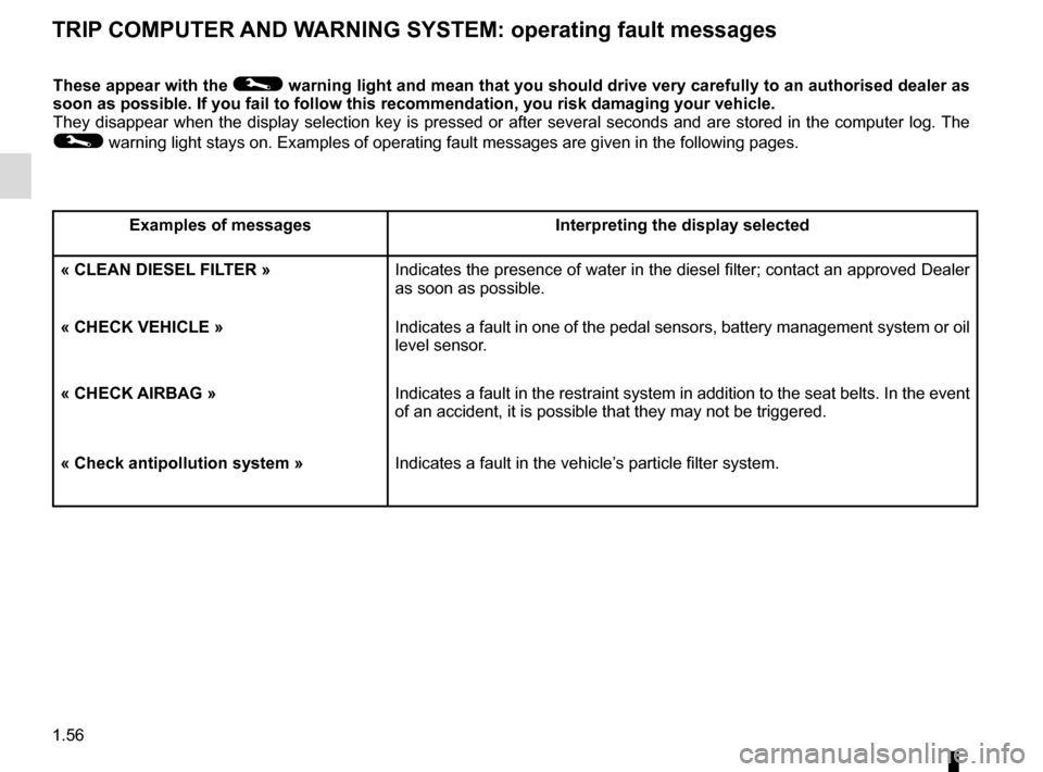 RENAULT CAPTUR 2014 1.G Owners Manual, Page 62