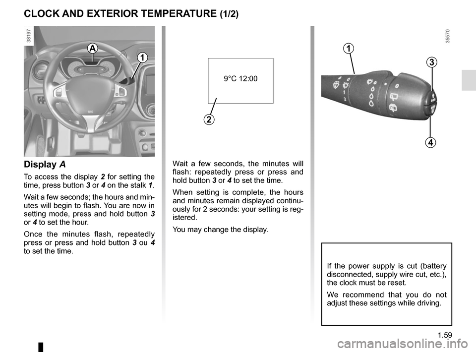 RENAULT CAPTUR 2014 1.G Owners Manual, Page 65