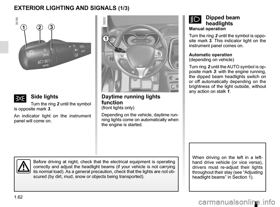 RENAULT CAPTUR 2014 1.G Owners Manual, Page 68