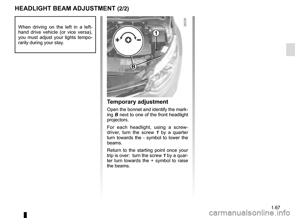 RENAULT CAPTUR 2014 1.G Owners Manual, Page 73