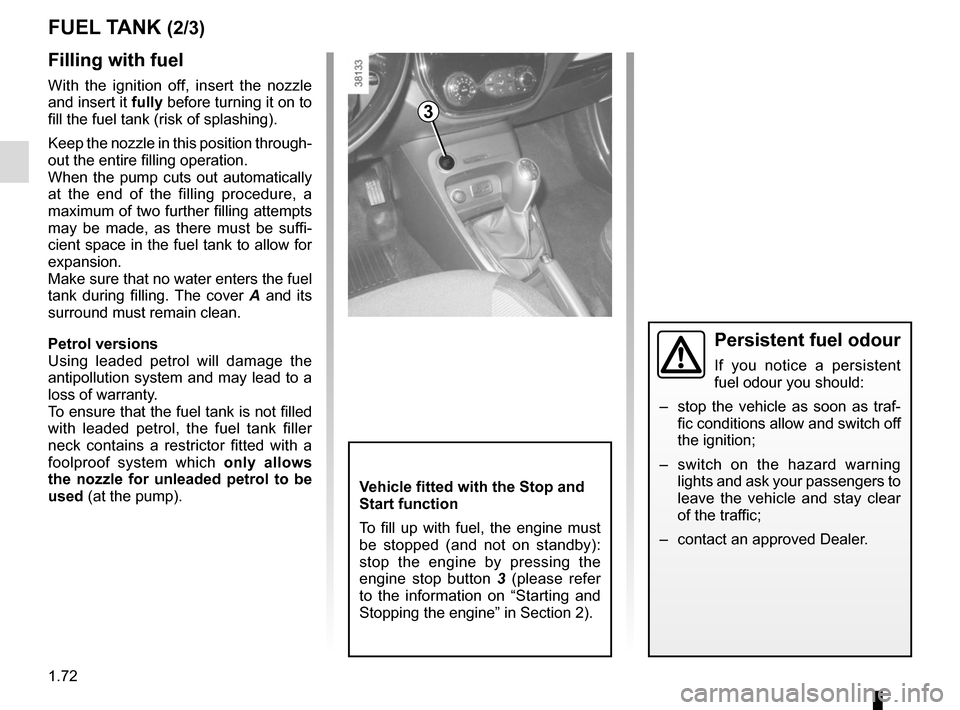 RENAULT CAPTUR 2014 1.G Owners Manual, Page 78