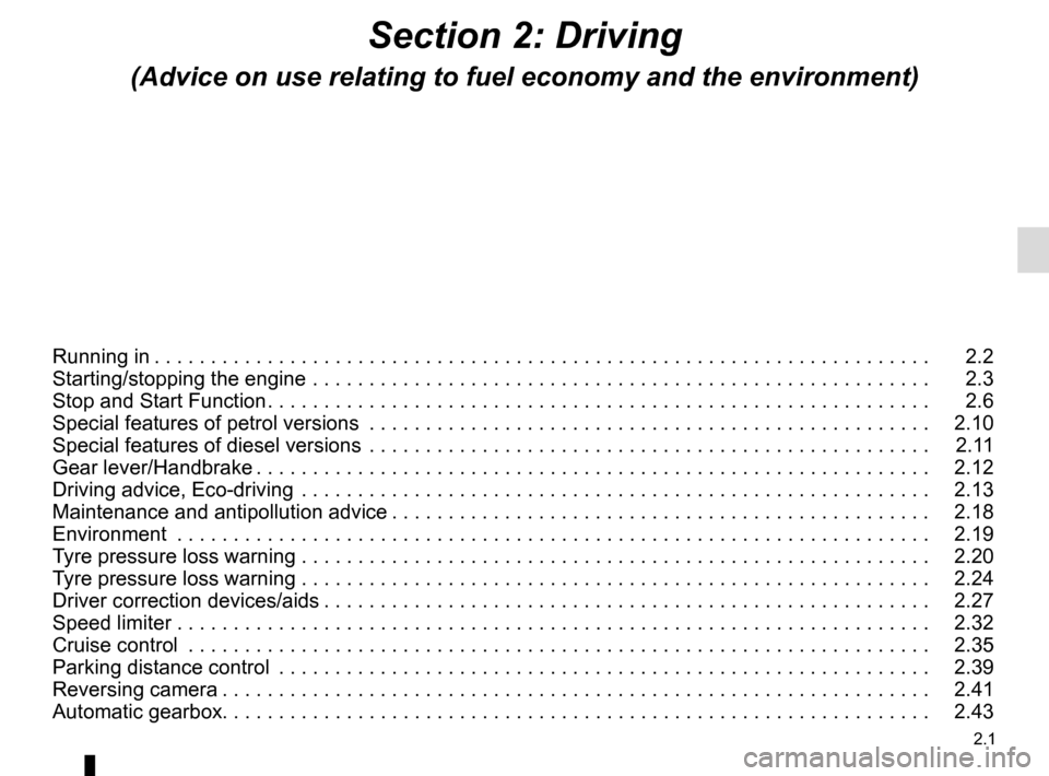 RENAULT CAPTUR 2014 1.G Owners Manual, Page 81