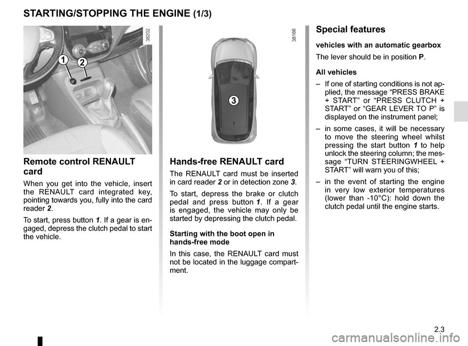 RENAULT CAPTUR 2014 1.G Owners Manual, Page 83