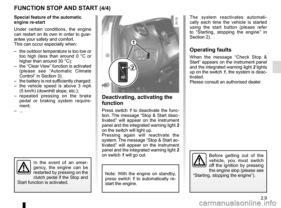RENAULT CAPTUR 2014 1.G Owners Manual, Page 89