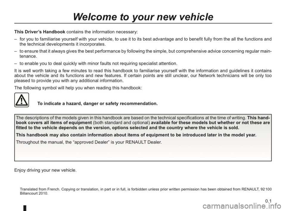 RENAULT KANGOO 2014 X61 / 2.G Owners Manual, Page 2