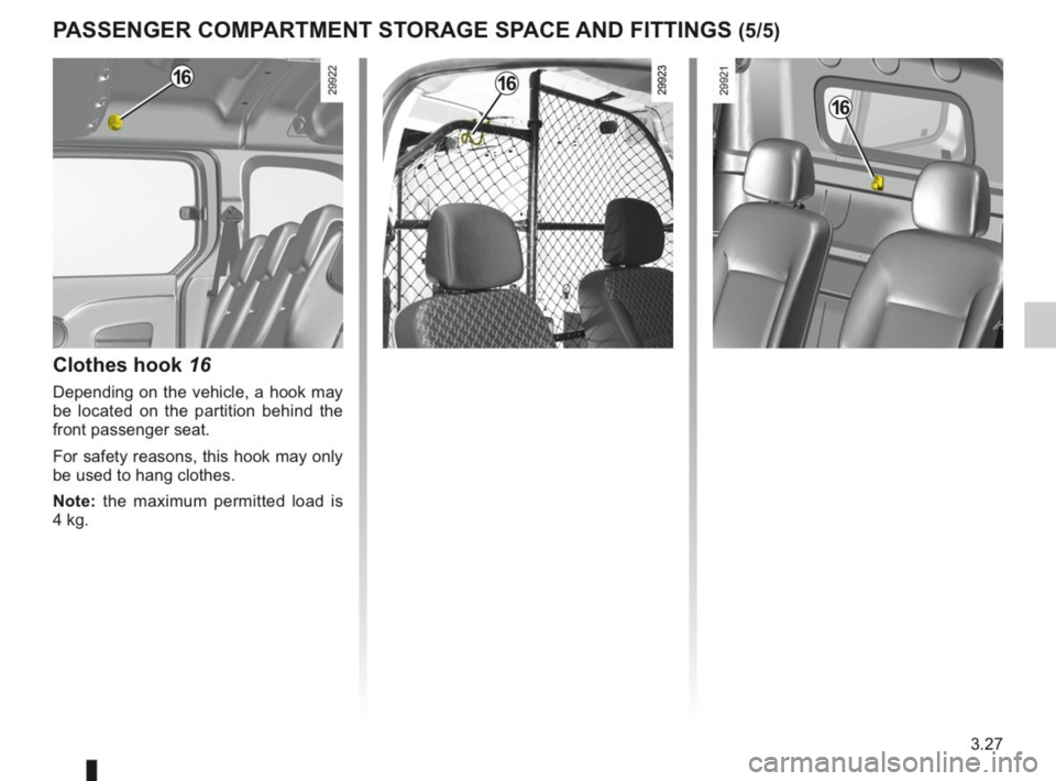 RENAULT KANGOO 2014 X61 / 2.G Owners Manual, Page 136