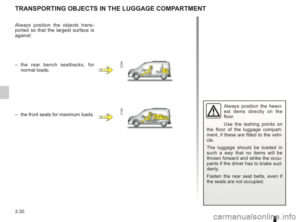 RENAULT KANGOO 2014 X61 / 2.G Owners Manual, Page 139
