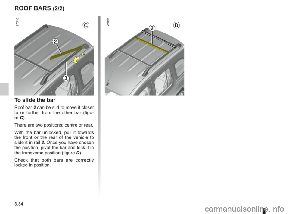 RENAULT KANGOO 2014 X61 / 2.G Owners Manual, Page 143