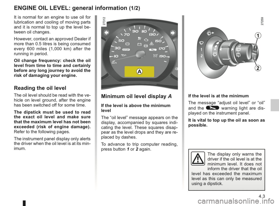 RENAULT KANGOO 2014 X61 / 2.G Owners Manual, Page 146