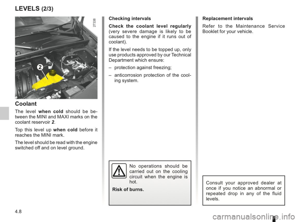 RENAULT KANGOO 2014 X61 / 2.G Owners Manual, Page 151