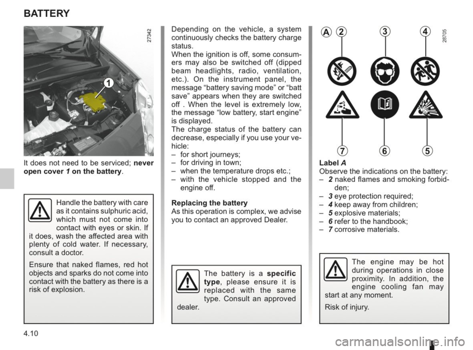RENAULT KANGOO 2014 X61 / 2.G Owners Manual, Page 153