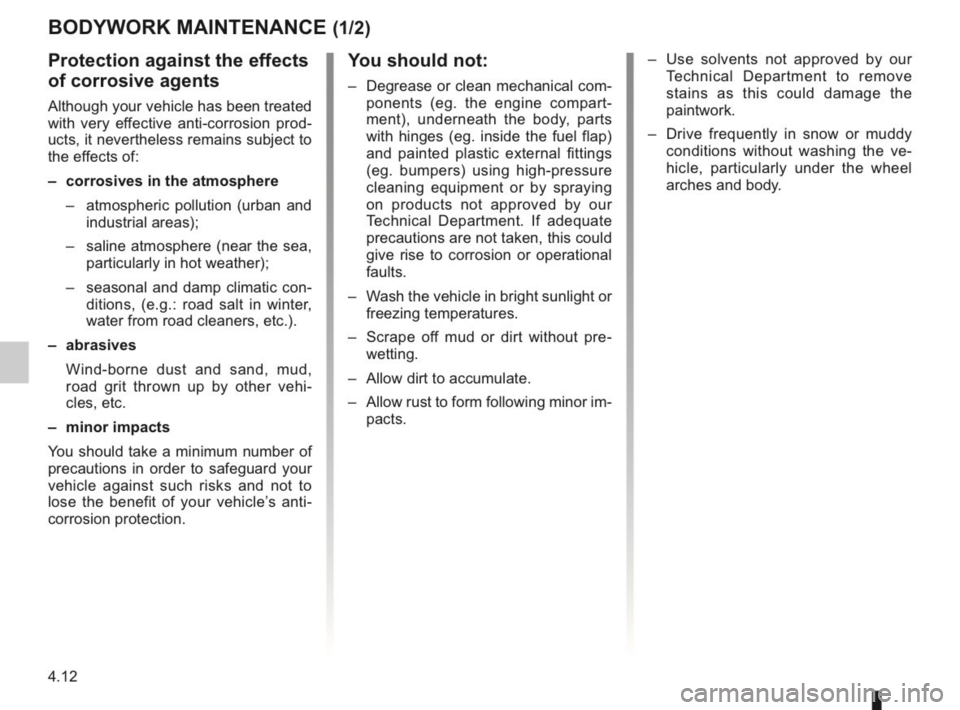 RENAULT KANGOO 2014 X61 / 2.G Owners Manual, Page 155