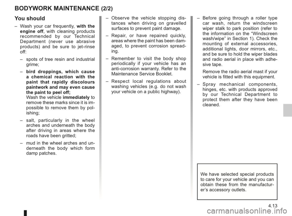 RENAULT KANGOO 2014 X61 / 2.G Owners Manual, Page 156