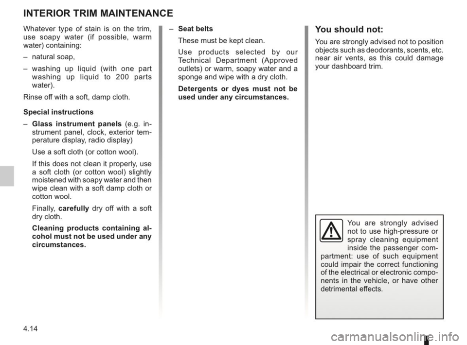 RENAULT KANGOO 2014 X61 / 2.G Owners Manual, Page 157