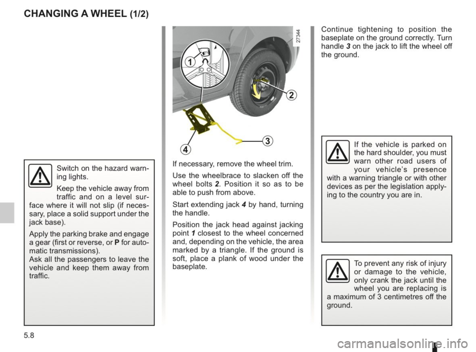 RENAULT KANGOO 2014 X61 / 2.G Owners Manual, Page 165