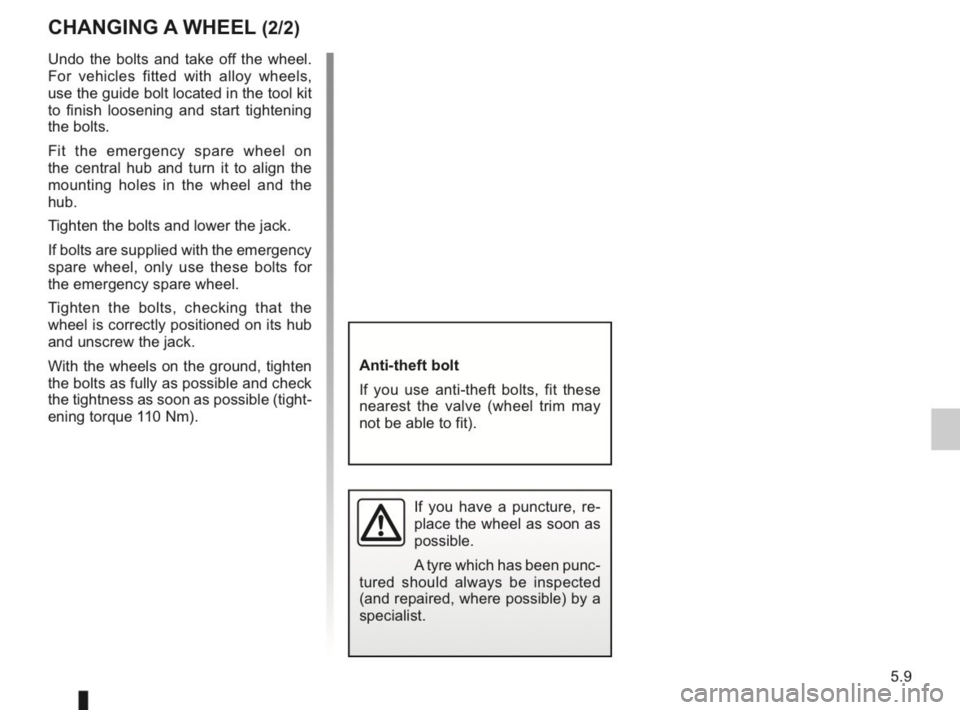 RENAULT KANGOO 2014 X61 / 2.G Owners Manual, Page 166
