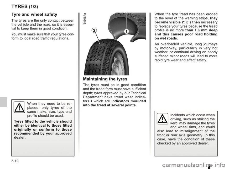 RENAULT KANGOO 2014 X61 / 2.G Owners Manual, Page 167