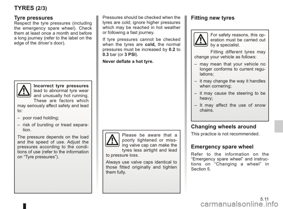 RENAULT KANGOO 2014 X61 / 2.G Owners Manual, Page 168