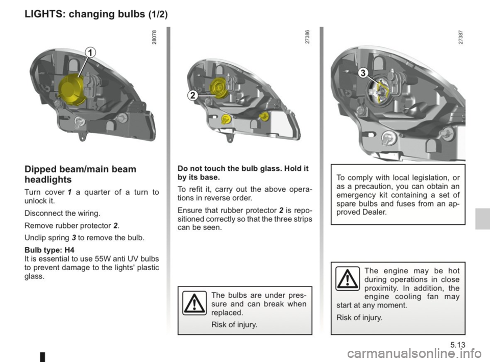 RENAULT KANGOO 2014 X61 / 2.G Owners Manual, Page 170
