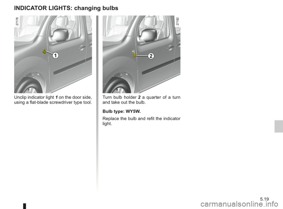 RENAULT KANGOO 2014 X61 / 2.G Owners Manual, Page 176