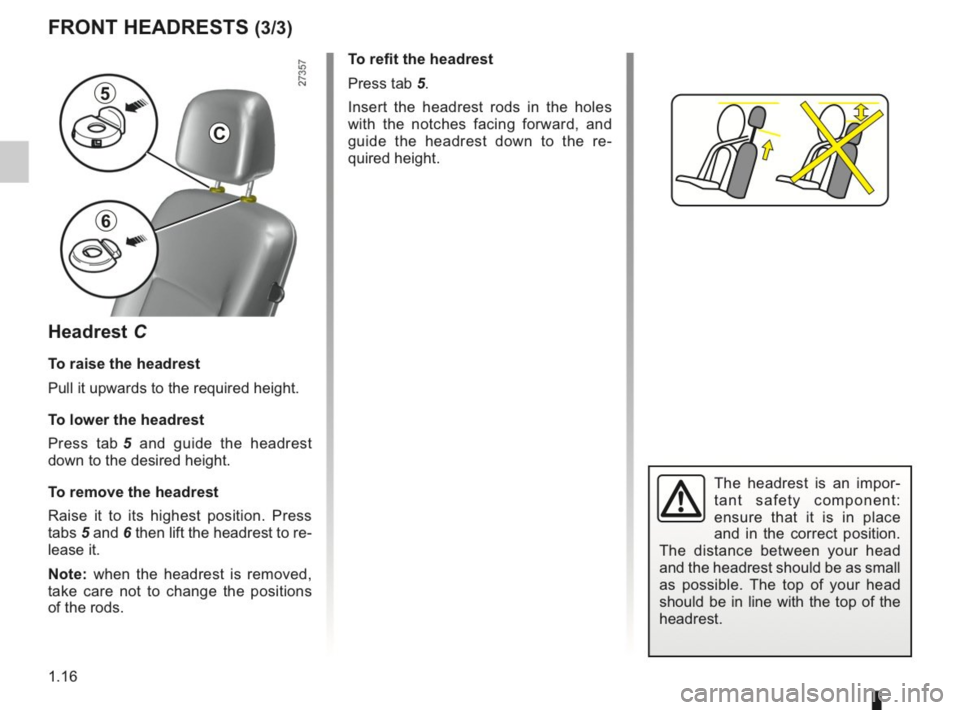 RENAULT KANGOO 2014 X61 / 2.G Owners Manual, Page 21