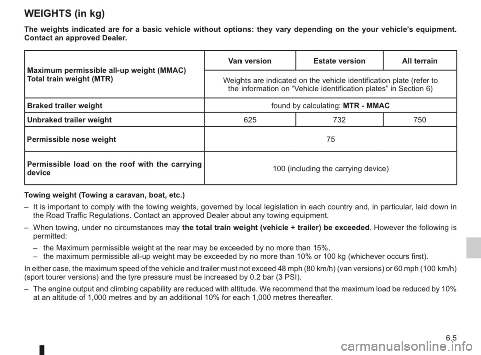 RENAULT KANGOO 2014 X61 / 2.G Owners Manual