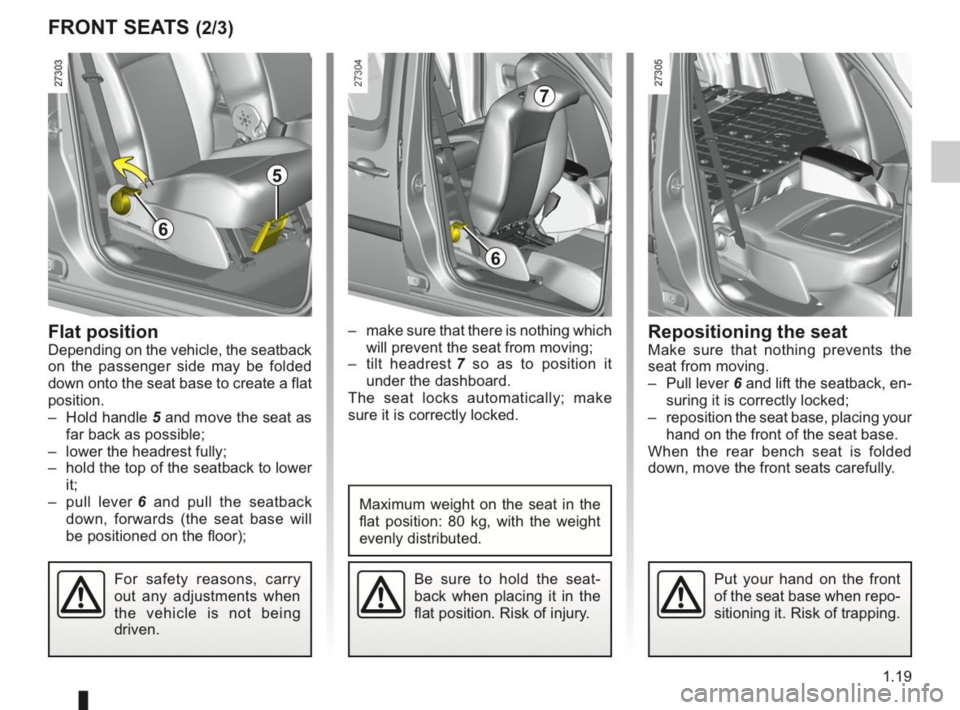 RENAULT KANGOO 2014 X61 / 2.G Owners Manual, Page 24