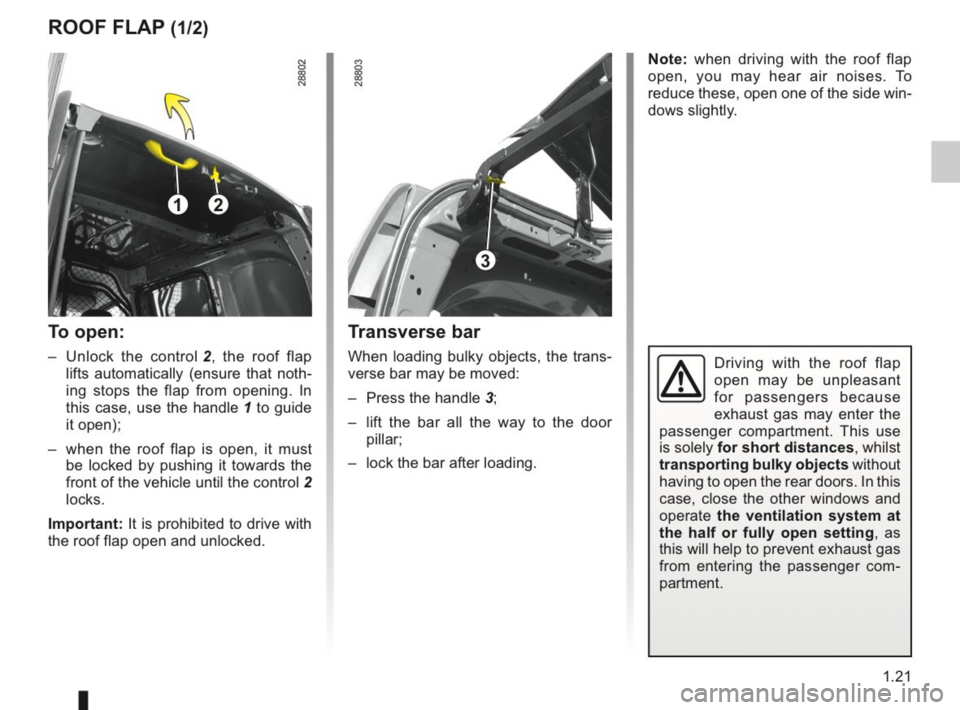 RENAULT KANGOO 2014 X61 / 2.G Owners Manual, Page 26