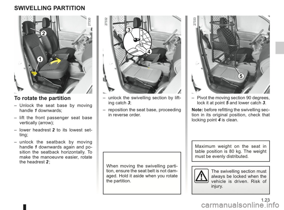 RENAULT KANGOO 2014 X61 / 2.G Owners Manual, Page 28