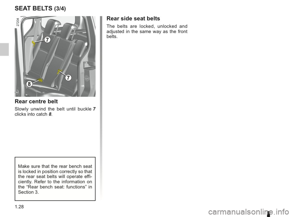 RENAULT KANGOO 2014 X61 / 2.G Owners Manual, Page 33