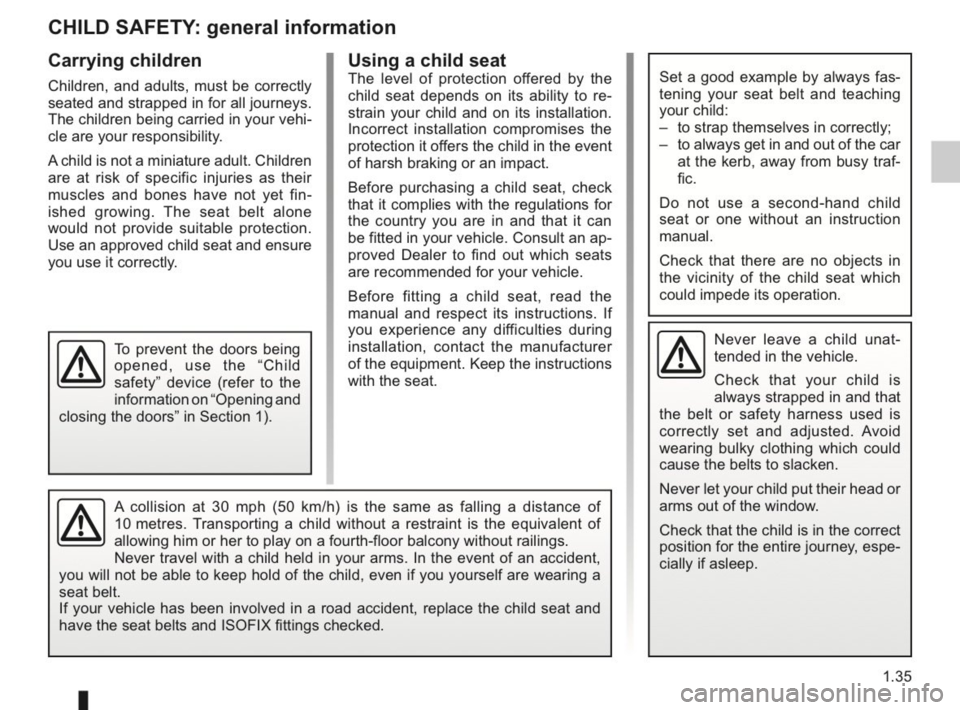RENAULT KANGOO 2014 X61 / 2.G Owners Manual, Page 40