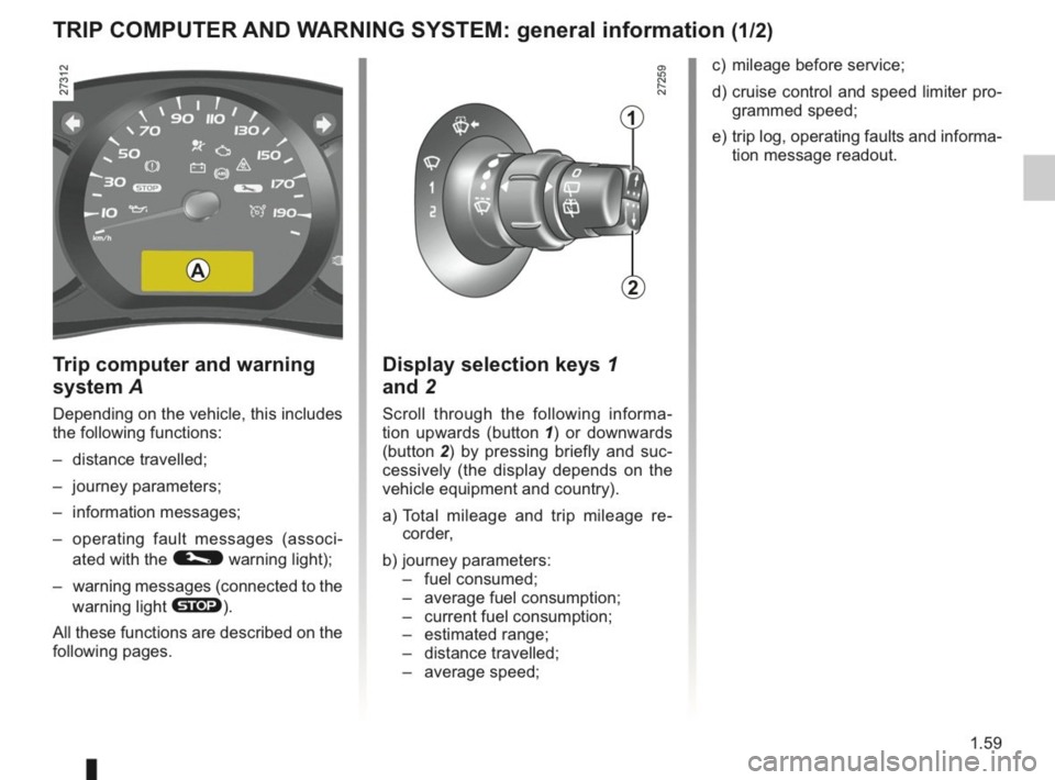 RENAULT KANGOO 2014 X61 / 2.G Owners Manual, Page 64