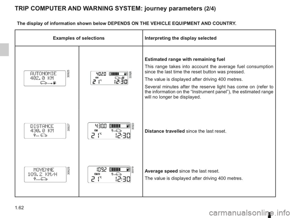 RENAULT KANGOO 2014 X61 / 2.G Owners Manual, Page 67