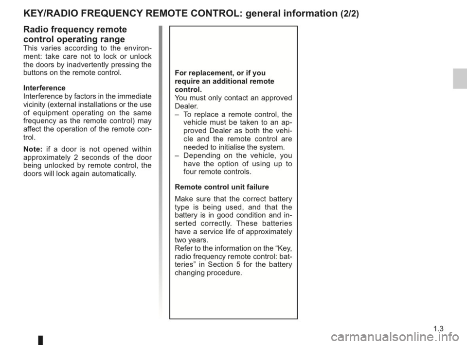RENAULT KANGOO 2014 X61 / 2.G Owners Manual, Page 8