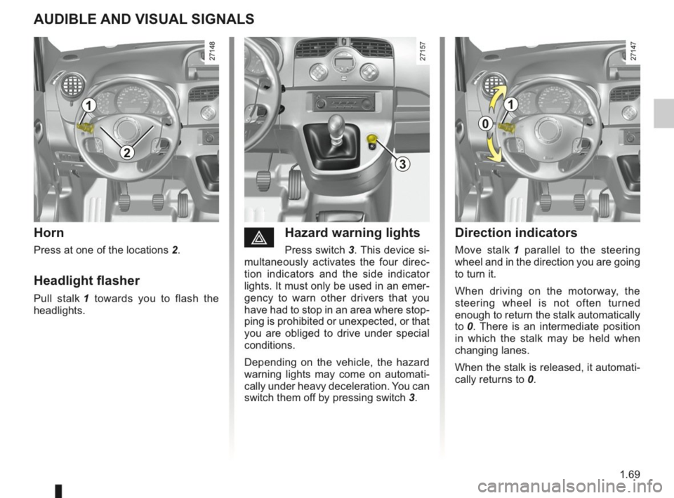 RENAULT KANGOO 2014 X61 / 2.G Owners Manual, Page 74