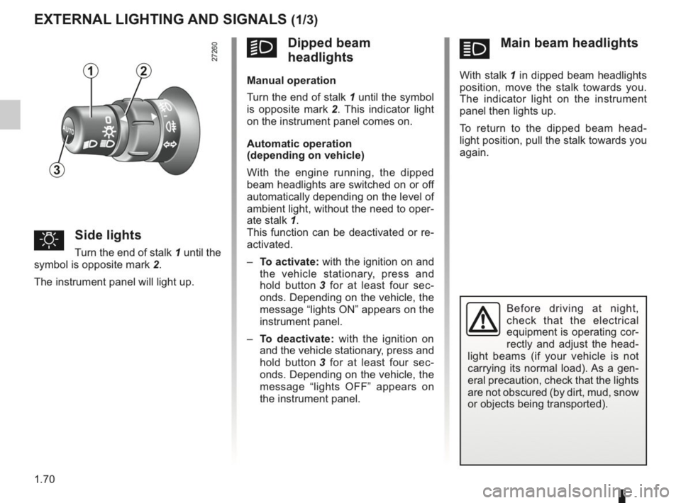RENAULT KANGOO 2014 X61 / 2.G Owners Manual, Page 75
