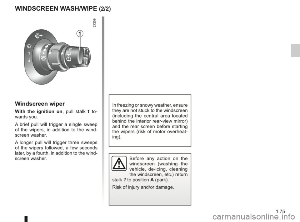 RENAULT KANGOO 2014 X61 / 2.G Owners Manual, Page 80